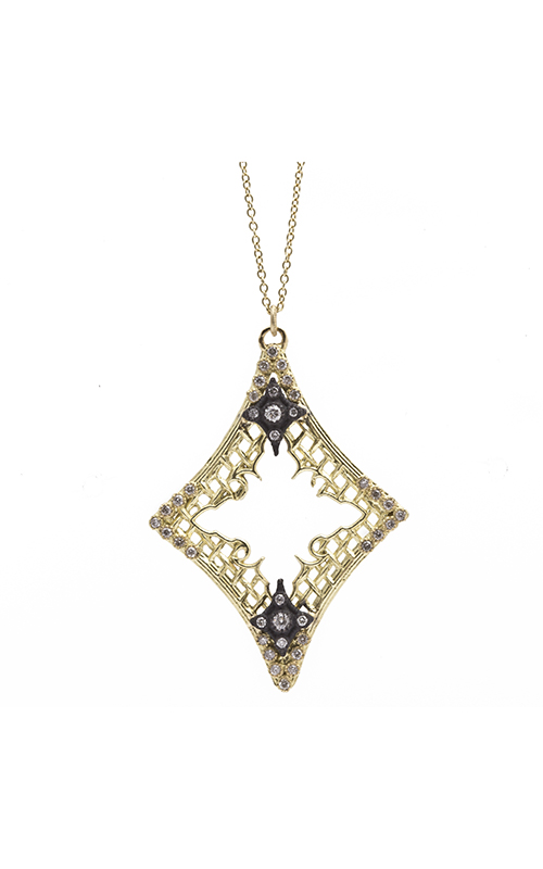 Armenta Mesh Crivelli Marquis Necklace 08608 product image