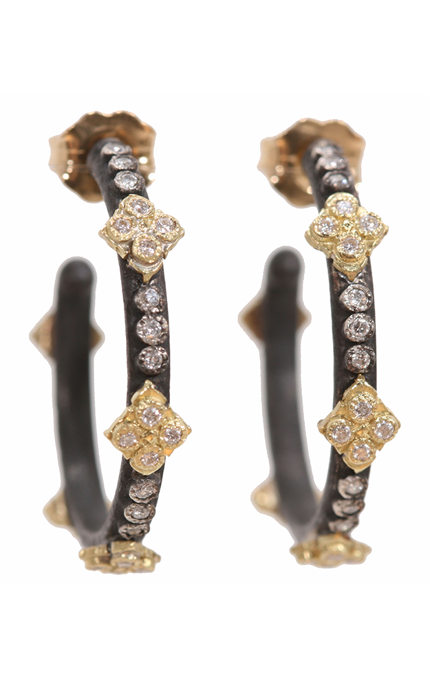 Armenta Cravelli Hoop Diamond Earrings - Small 02595 product image