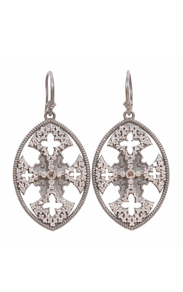 Armenta Maltese Cross Drop Earrings 02900 product image