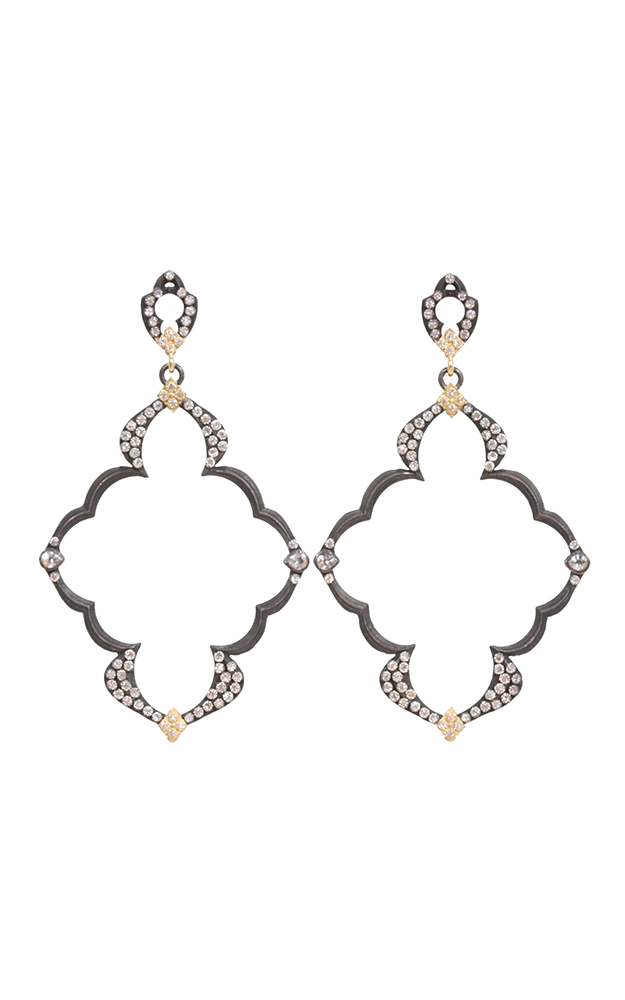 Armenta Dulcinea Open Wing Diamond Earrings 03040 product image