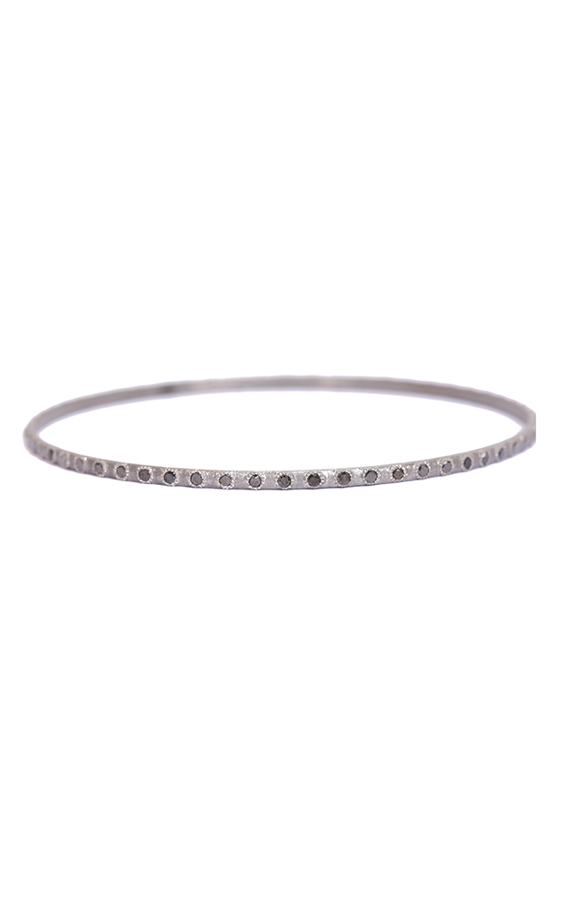Armenta Black Diamond Eternity Bangle - Medium 02868 product image
