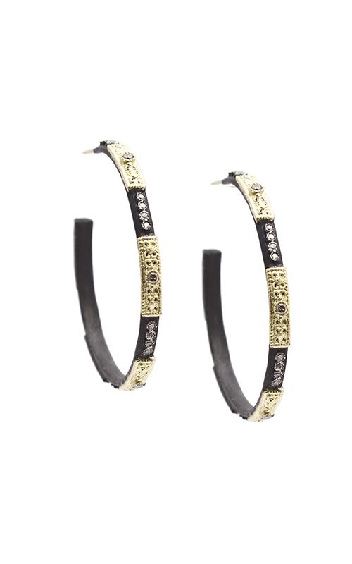 Armenta Skinny Square-Motif Hoop Earrings 08572 product image