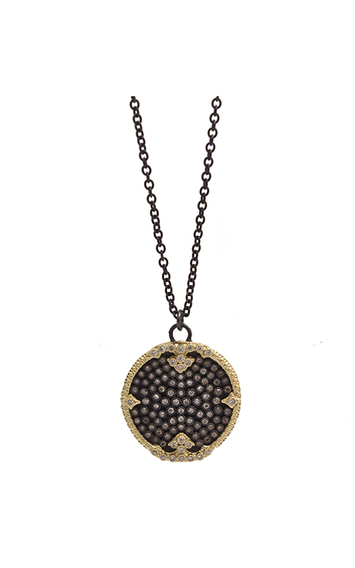 Armenta Disc Pave Pendant Necklace 10275 product image