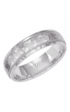 Artcarved WOODBRIDGE 6MM Hammer Wedding Ring 11-WV7173W6-G
