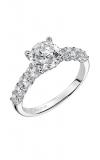 Artcarved LEANDRA Engagement Ring White Gold 31-V508FRW-E