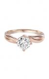 Artcarved WHITNEY Engagement Ring Rose Gold 31-V303ERR-E