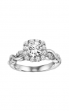 Artcarved  Bella  Engagment Ring Wht Gold-A  Engagement Ring  31-V320ERW-E