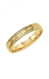 Artcarved ADAIR 4MM ENGRAVED WEDDING RING 11-WV4040-G