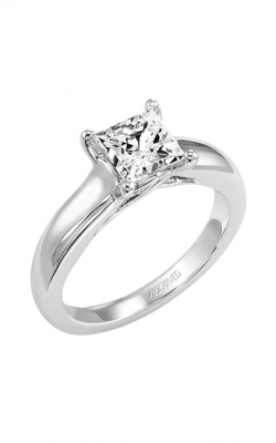 ArtCarved Classic Engagement ring 31-V222FCW-E product image