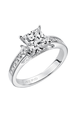 Artcarved ELENA Engagement Ring White Gold 31-V185FCW-E