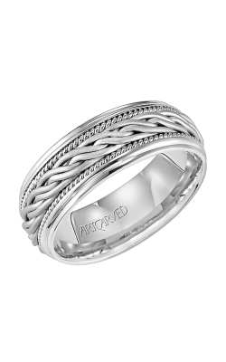 Artcarved PARAGON 8.0MM Woven Wedding Ring 11-WV1650W-G product image