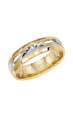 Artcarved FONDEST 6MM ENGRAVED WEDDING RING 11-WV5435-G product image