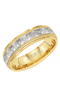 Artcarved WAVE CREST 6MM CF TRUE TWO WED RING 11-WV7190U6-G