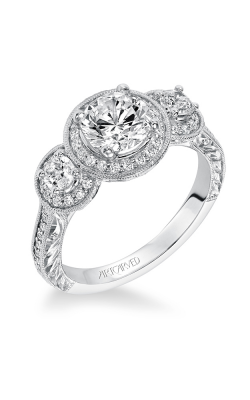 ArtCarved Vintage Engagement Ring 31-V553ERW-E product image