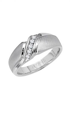 Artcarved MERRITT 14KT CF SOLID BACK RING 21-V22023W-G product image