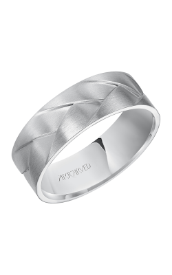 ArtCarved Contemporary Wedding Band 11-WV7458W7-G product image