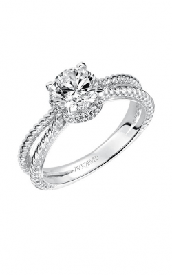 Artcarved SERINA Halo Engagement Ring 31-V546ERW-E