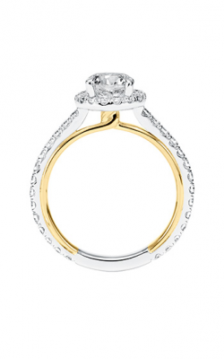 ArtCarved Contemporary Engagement Ring 31-V707ERA-E product image