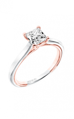 ArtCarved Contemporary Engagement Ring 31-V708ECR-E product image