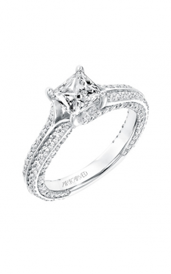 ArtCarved Contemporary Engagement Ring 31-V713ECW-E product image