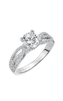 ArtCarved Contemporary Engagement Ring 31-V422ERW-E product image