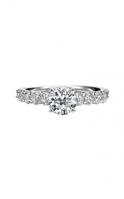 ArtCarved Contemporary Engagement Ring 31-V283ERW-E product image