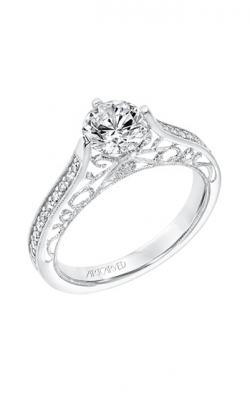 ArtCarved Vintage Engagement Ring 31-V727ERW-E product image