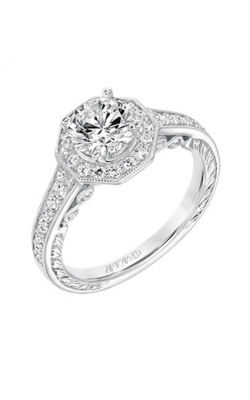 Artcarved  Perla  Engagement Ring  31-V687ERW-E