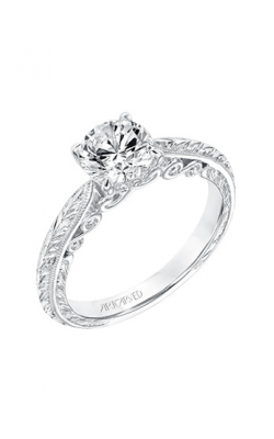 ArtCarved Vintage Engagement Ring 31-V690ERW-E product image