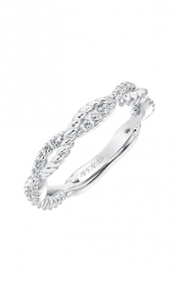 ArtCarved Contemporary Wedding Band 31-V697W-L product image