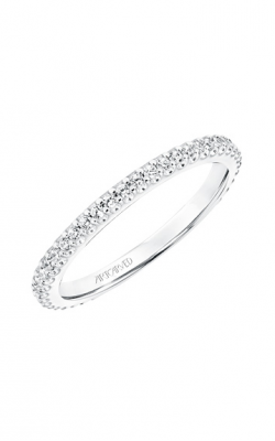 ArtCarved Contemporary Wedding Band 31-V702W-L product image