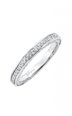 ArtCarved Contemporary Wedding Band 31-V712W-L product image