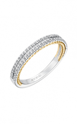 ArtCarved Contemporary Wedding Band 31-V585FRA-L product image