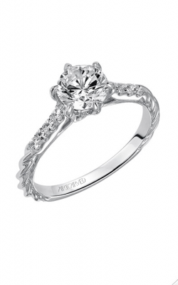 ArtCarved Contemporary Engagement Ring 31-V466ERW-E product image