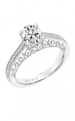 ArtCarved Vintage Engagement Ring 31-V722EVW-E product image
