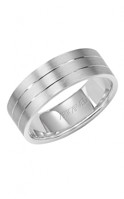 Artcarved LOVE LIGHT 7MM CF Engrave Ring 11-WV7357W-G
