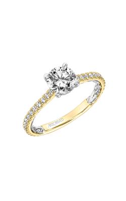Artcarved Sonya Lyric Engagement Ring 31-V908ERYW-E