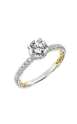 Artcarved Brianne Lyric Engagement Ring 31-V913ERWY-E