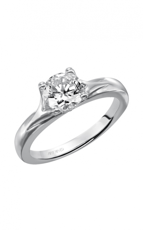 ArtCarved Classic Engagement ring 31-V405ERW-E product image
