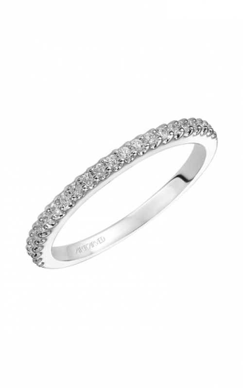 ArtCarved Contemporary Wedding band 31-V421W-L product image