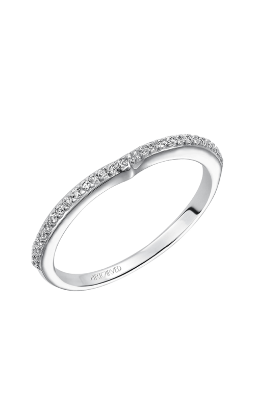 ArtCarved Contemporary Wedding band 31-V208W-L product image
