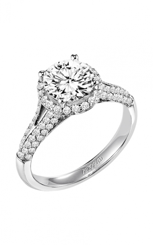 ArtCarved Classic Engagement ring 31-V328GRW-E product image