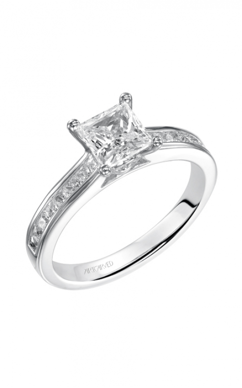 ArtCarved Classic Engagement ring 31-V412ECW-E product image