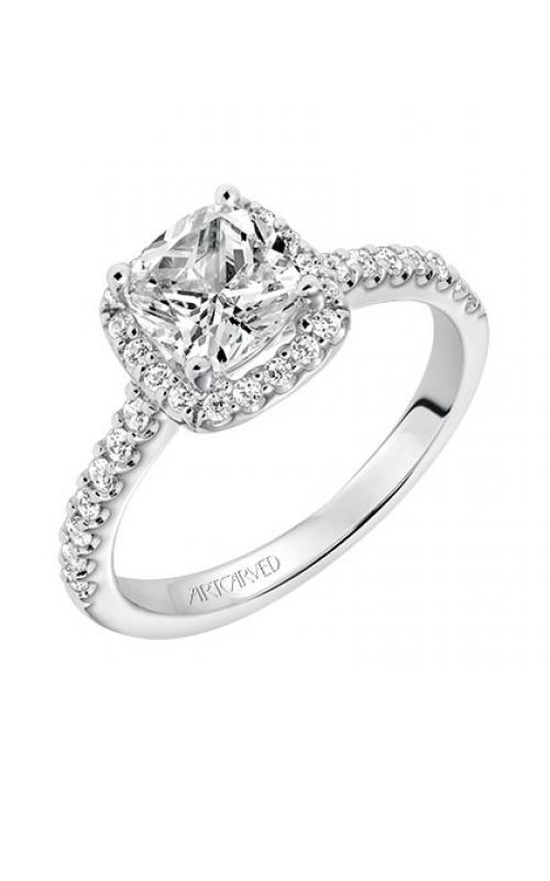 ArtCarved Classic Engagement ring 31-V324GUW-E product image