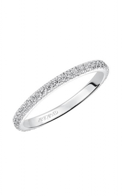 ArtCarved Contemporary Wedding band 33-V88B4W65-L product image