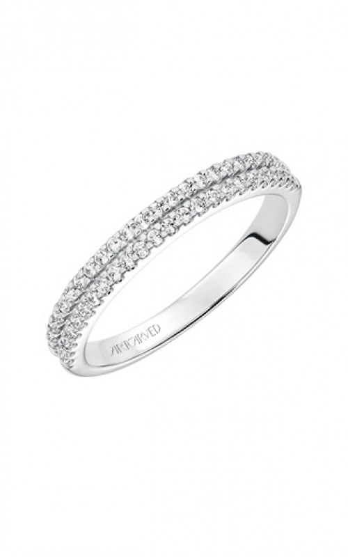 ArtCarved Classic Wedding band 31-V611W-L product image