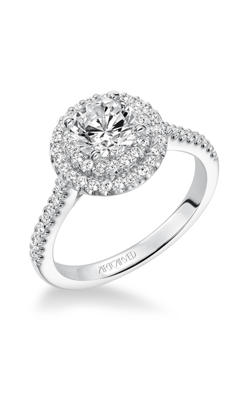 ArtCarved Classic Engagement ring 31-V607ERW-E product image