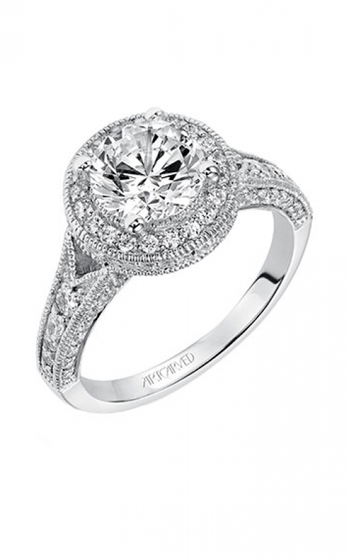 ArtCarved Vintage Engagement ring 31-V365FRW-E product image