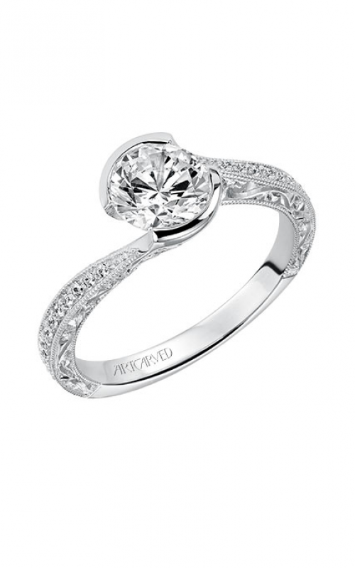 ArtCarved Vintage Engagement ring 31-V515ERW-E product image