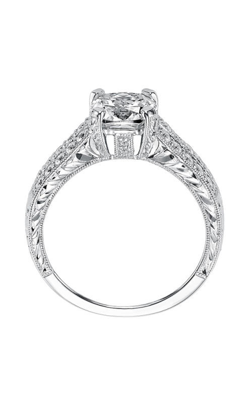 ArtCarved Vintage Engagement ring 31-V519HUW-E product image